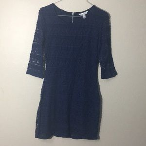 Speechless 3/4 sleeve lace dress size 7